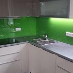 Barevné sklo Lacobel - obklady do kuchyně 90