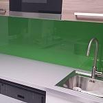Barevné sklo Lacobel - obklady do kuchyně 91