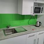 Barevné sklo Lacobel - obklady do kuchyně 98
