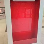 Barevné sklo Lacobel - zasklení 1