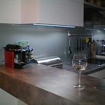 Barevné sklo Lacobel montáž - Metalac 11