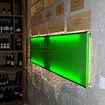 Barevné sklo Lacobel montáž - Metalac 5