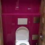Barvené sklo Lacobel - toaleta 10