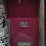 Barvené sklo Lacobel - toaleta 3