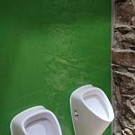 Barvené sklo Lacobel - toaleta 5