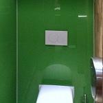 Barvené sklo Lacobel - toaleta 7