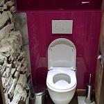 Barvené sklo Lacobel - toaleta 9