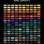 Barvené sklo Lacobel - výběr 6