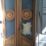 bezpečnostní sklo - vchodové dveře 2