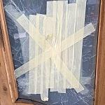 bezpečnostní sklo - vchodové dveře 1