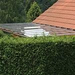 Bezpečnostní sklo Connex - zastřešení terasy 11