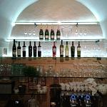 Kalené sklo - barové police 1