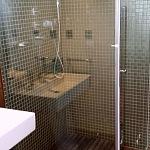 Kalené sklo - koupelna 6