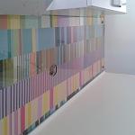 Kalené sklo - skleněné obklady do kuchyně 2