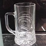 Pískování skla - dárkové předměty - sklenice 12