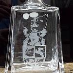 Pískování skla - dárkové předměty - sklenice 13