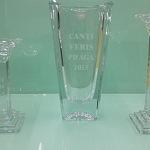 Pískování skla - dárkové předměty - sklenice 1