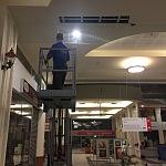 Protipožární sklo - obchodní centrum 2