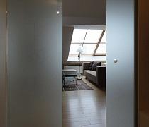Skleněné posuvné dveře interiérové